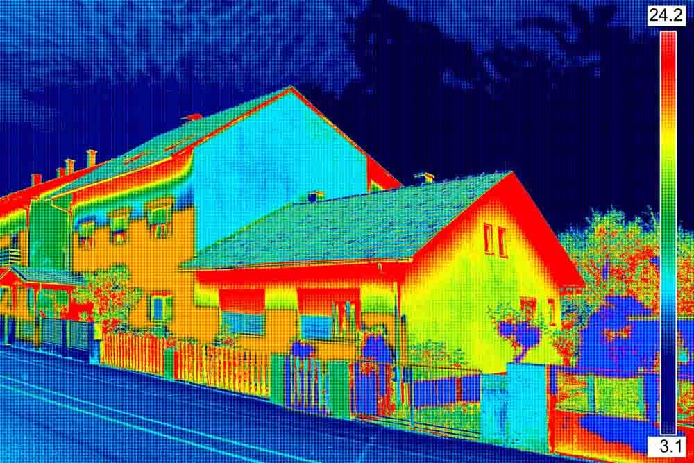 Thermal image - Heat loss survey